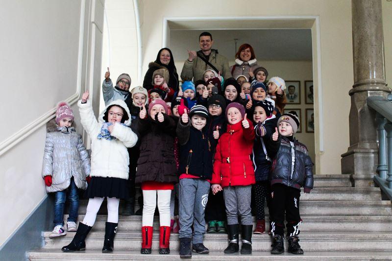 Екскурсія дітям сподобалася