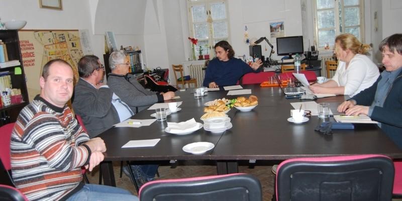 Ігор Прохненко на конференції у Словаччині