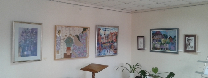Виставка в Закарпатській академії мистецтв