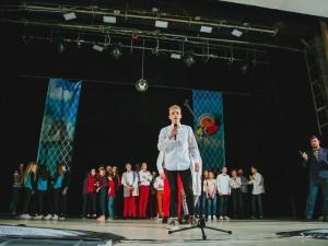 Під час півфіналу Шкільної ліги КВН на Закарпатті