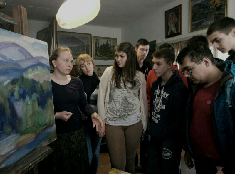 Студенти УТЕК КНТЕУ в музеї А. Коцки