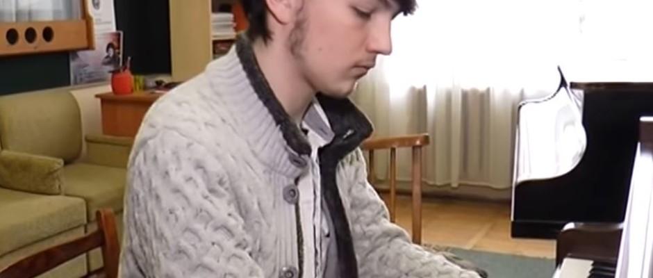Адріан Ерп, студент Ужгородського музучилища
