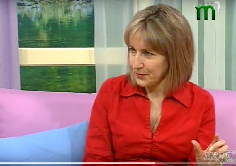 Галина Шумицька в ефірі Тиси-1