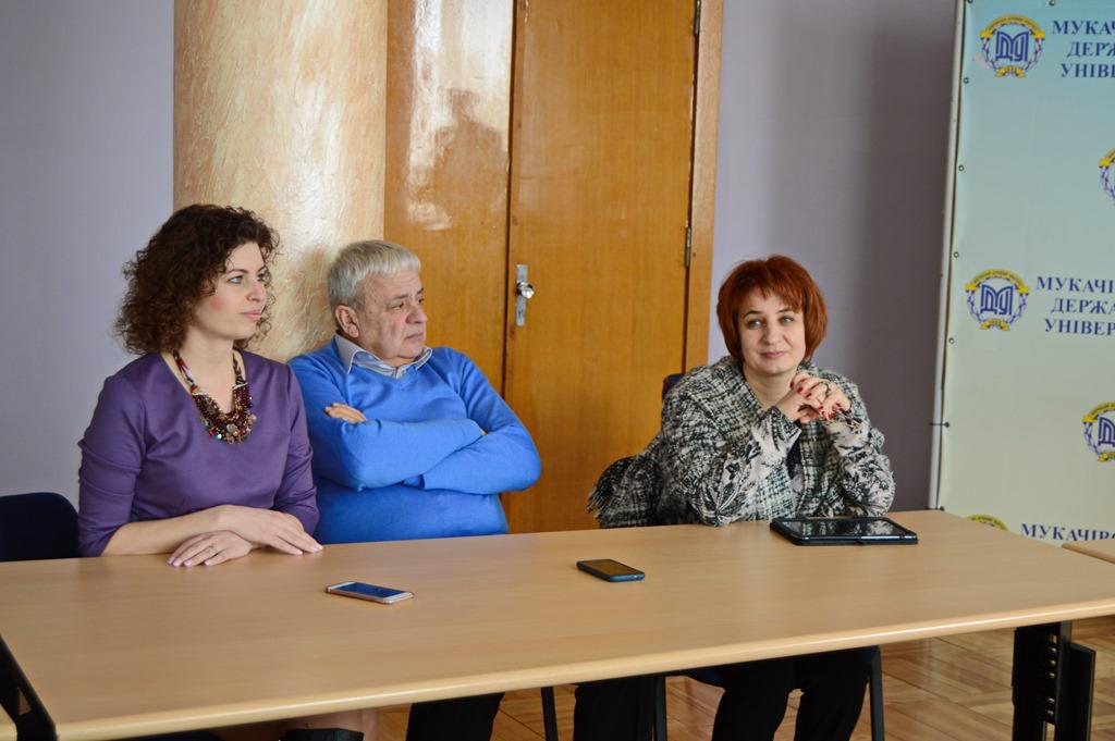 Під час тренінгу, Тетяна Щербан