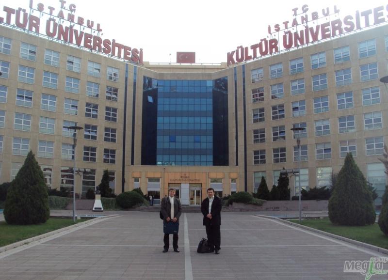 Роман Голомб та Олександр Міца у Стамбулі, 2011 рік