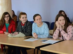 Студенти МДУ на семінарі