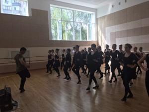 Каха Чітаія в Ужгородському коледжі культури і мистецтв