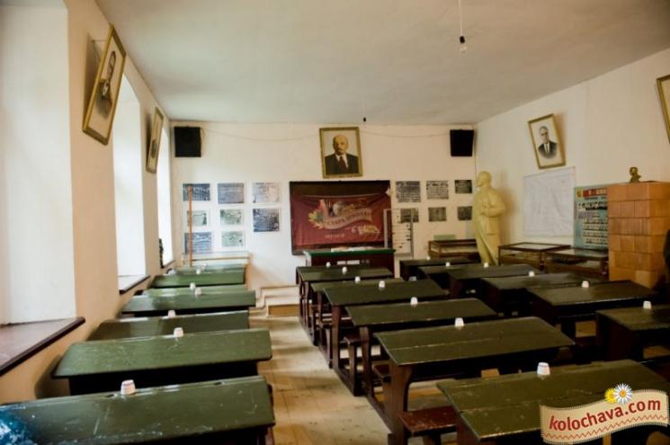 Радянський клас у Колочаві