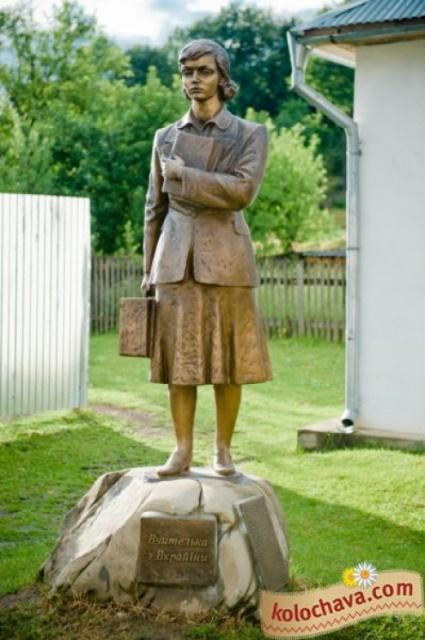 Вчителька з України в Колочаві