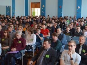 Відкриття Всеукраїнської олімпіади з інформатики, Олександр Міца