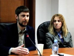 Олександр Неберикут та Ольга Коцюруба