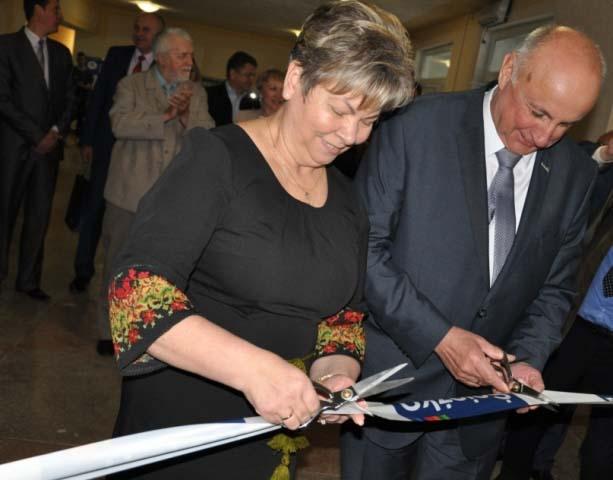 Відкриття в Ужгороді навчально-практичного центру разом із «Снєжка-Україна»