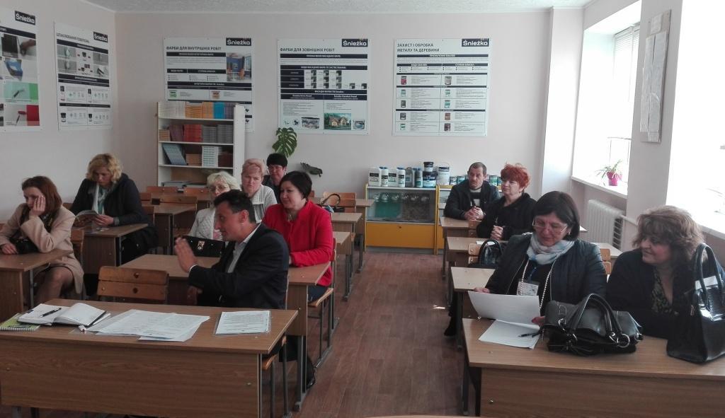 Засідання обласної методичної секції педагогічних працівників будівельних професій на Закарпатті