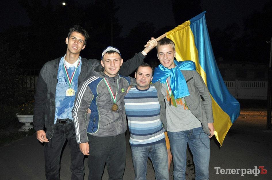 Команда українських інформатиків в Італії