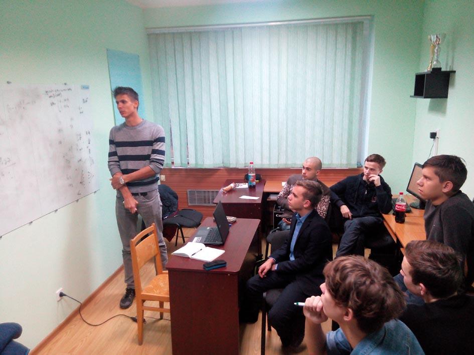 Розбір задач на факультеті інформаційних технологій УжНУ. Сергій Нагін