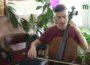"""Віолончеліст Петро Сокач у таборі для талановитих музикантів """"Гармонія"""" на Мукачівщині"""