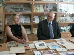 У відділі карпатики бібліотеки УжНУ, Марія Чорній