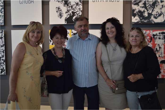 Викладачі - завідувачі кафедри Закарпатської академії мистецтв