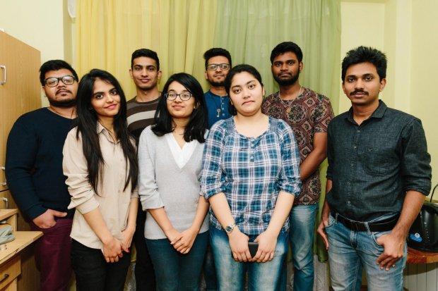 Індійські студенти в УжНУ