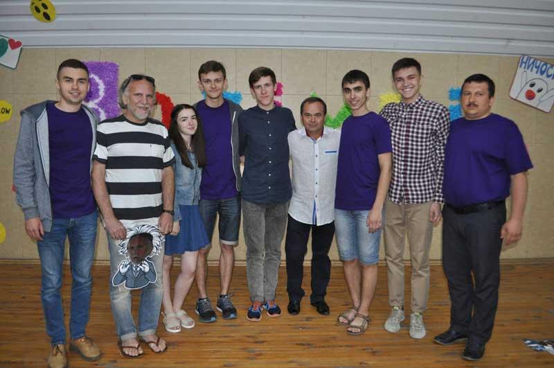Лектори літньої школи у Кременчуці