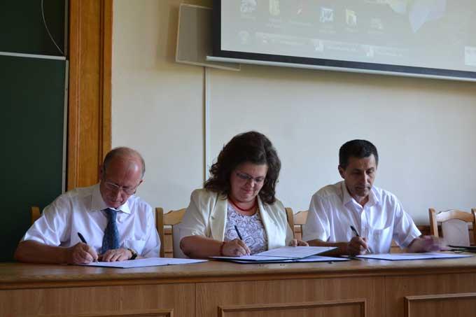 Підписання угод про співпрацю