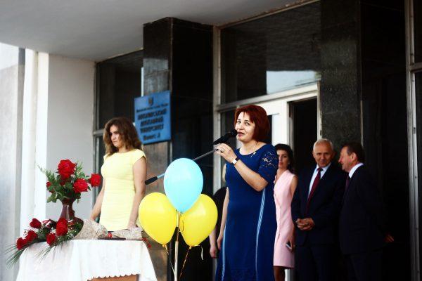Вручення дипломів в МДУ - Тетяна Щербан