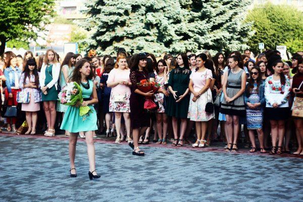 Вручення дипломів у Мукачівському державному університеті