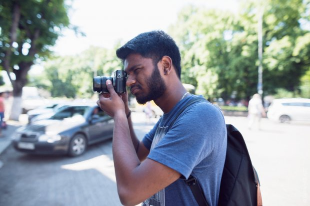 Гарі Крішнан займається фотографуванням