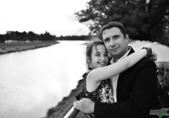 Тарас Ващук із донечкою Олею