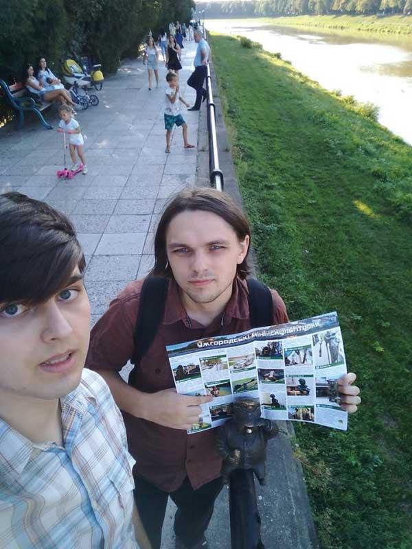Бравий вояка Швейк в Ужгороді