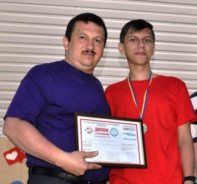Станіслав Томаш із Олександром Міцою