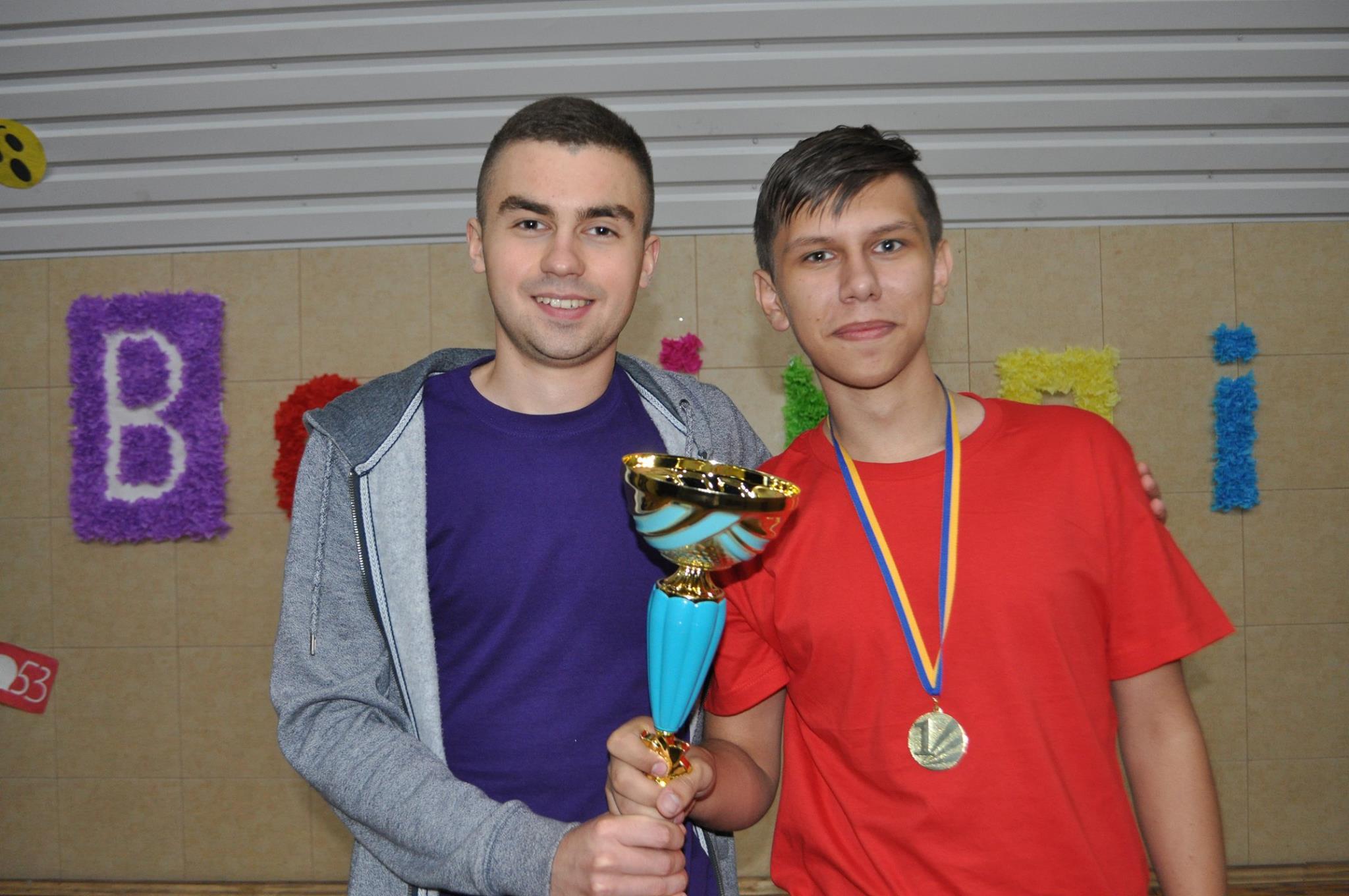 Станіслав із тренером - Сергієм Оришичем
