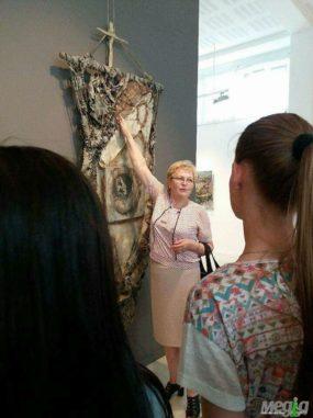 Про мистецтво говорить Валентина Барчан