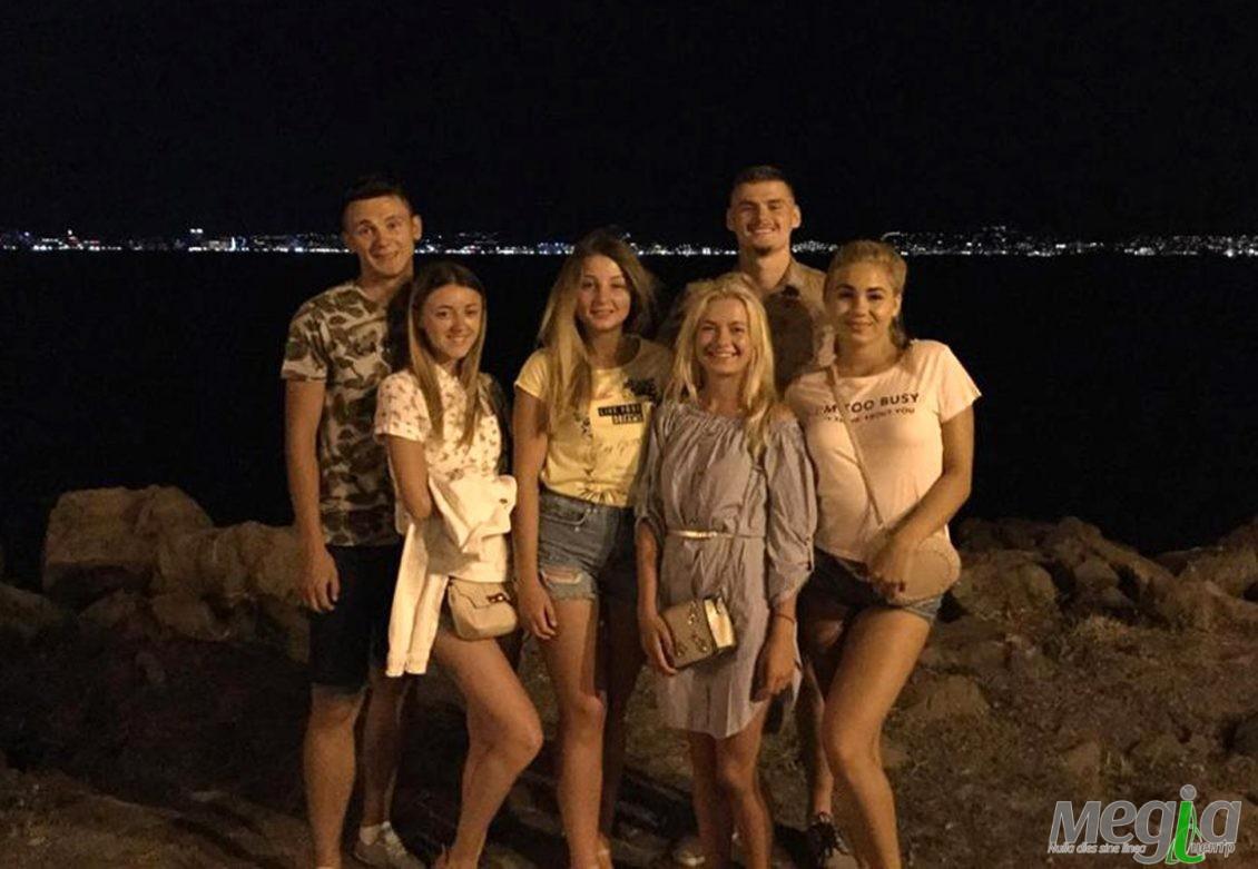 Студенти Ужгородського університету під час подорожі