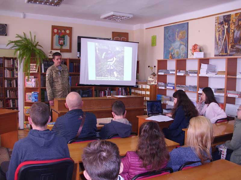 Зустріч студентів УТЕК КНТЕУ із Русланом Ференці