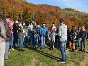 Студенти УТЕК КНТЕУ на Свалявщині