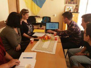 Айтішники демонструють філологам можливості інтерактивної карти
