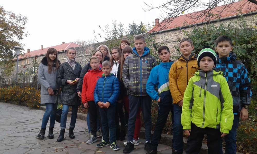 Діти з Луганщини на Закарпатті