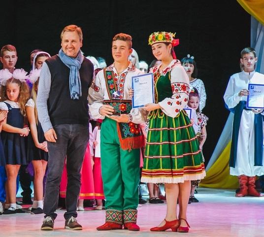 Учасники танцювального фестивалю в Ужгороді
