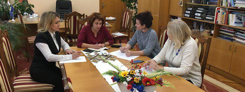 Комісія з англійської - під час зустрічі з Т. Щербан