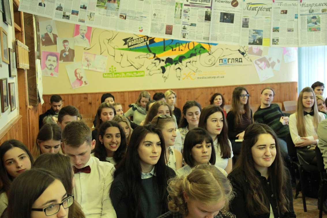 Студенти-журналісти УжНУ