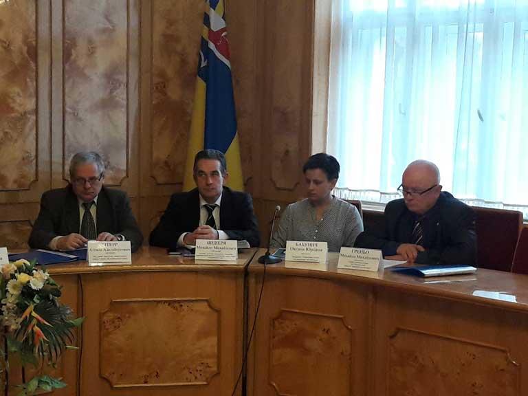 На засіданні була й Оксана Бабунич, яка стала начальницею управління культури ОДА