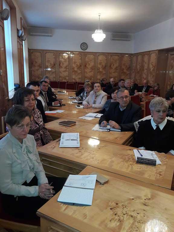 Розширене засідання колегії департаменту