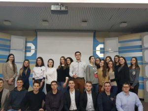 Представники студентської ради при департаменті освіти і науки Закарпатської ОДА