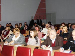 Учасники наради в Закарпатському інституті післядипломної педагогічної освіти