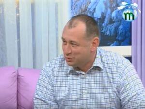 """Федір Шандор в ефірі телеканалу """"Тиса-1"""""""
