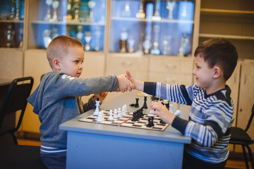 Маленькі шахісти в ПАДІЮНі