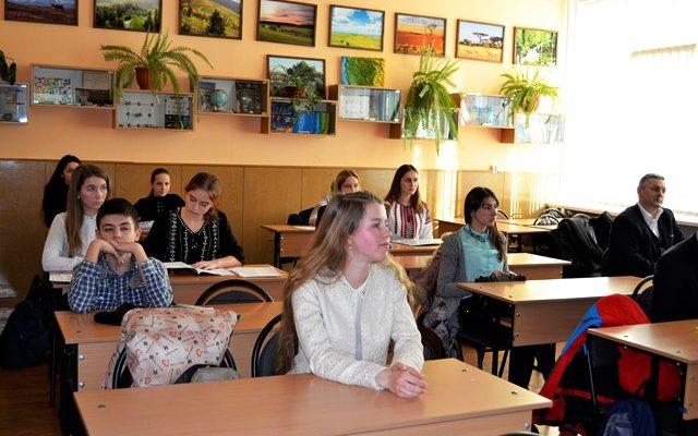 Захист робіт МАН в Ужгороді