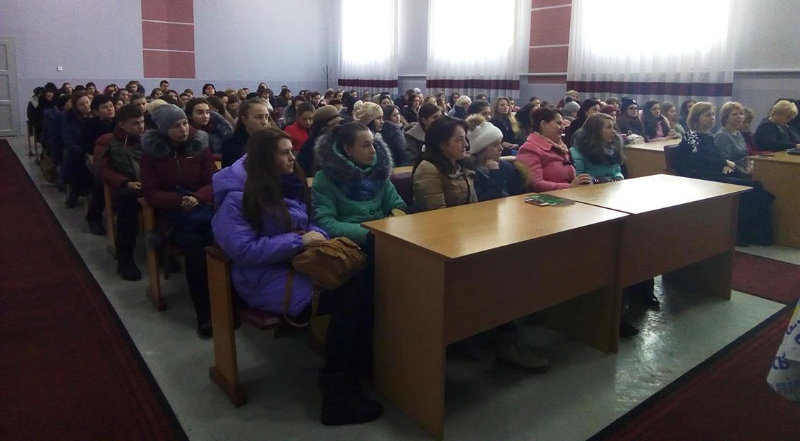 Учасники обласного етапу з української мови та літератури