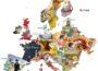 Мапа найкращих дитячих книжок Європи